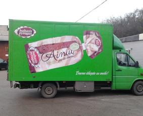 Reklama ant transporto, lipdukų gamyba, lauko/vidaus reklama / Trigalvis.lt / Darbų pavyzdys ID 451429