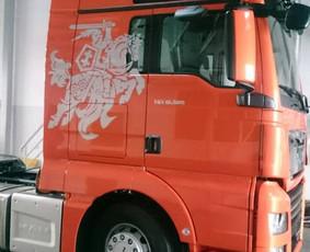 Reklama ant transporto, lipdukų gamyba, lauko/vidaus reklama / Trigalvis.lt / Darbų pavyzdys ID 451435
