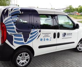 Reklama ant transporto, lipdukų gamyba, lauko/vidaus reklama / Trigalvis.lt / Darbų pavyzdys ID 451445