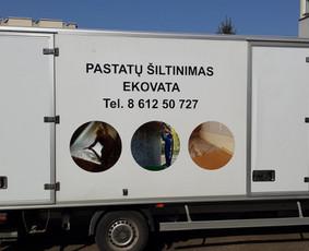 Reklama ant transporto, lipdukų gamyba, lauko/vidaus reklama / Trigalvis.lt / Darbų pavyzdys ID 451447