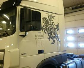 Reklama ant transporto, lipdukų gamyba, lauko/vidaus reklama / Trigalvis.lt / Darbų pavyzdys ID 451785