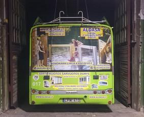 Reklama ant transporto, lipdukų gamyba, lauko/vidaus reklama / Trigalvis.lt / Darbų pavyzdys ID 451797