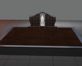 Paminklai, granito plokštės, paminklų gamyba, antkapiai, / PAMINKLAI / Darbų pavyzdys ID 452561