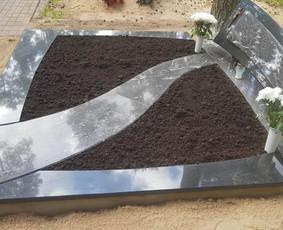 Paminklai, granito plokštės, paminklų gamyba, antkapiai, / PAMINKLAI / Darbų pavyzdys ID 452567