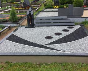 Paminklai, granito plokštės, paminklų gamyba, antkapiai, / PAMINKLAI / Darbų pavyzdys ID 452581