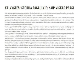 Straipsnių, tekstų svetainėms, reklamai rašymas / Monika Žiūkaitė / Darbų pavyzdys ID 454067