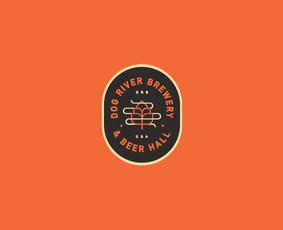 """River dog brewery"" logotipas"