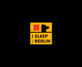 "Blogo ""I sleep with Berlin"" logotipas"