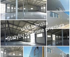 Statybos dokumentų konsultantas -statybos techninė priežiūra
