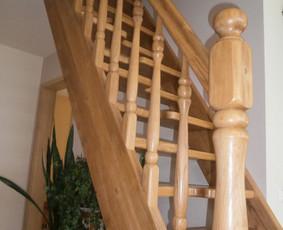 Medinių elementų kaip durys langai pirtys laiptai t t gamyba