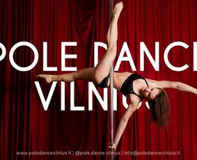 Šokiai, šokių pamokos, pole dance