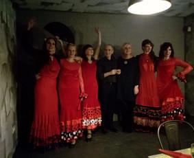 """Fiesta Flamenca, gitaros ir šokio duetas """"Duo Flame"""" / Liucija Puidokaitė / Darbų pavyzdys ID 463305"""
