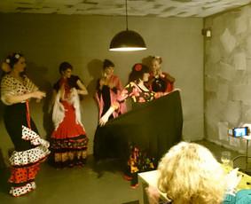 """Fiesta Flamenca, gitaros ir šokio duetas """"Duo Flame"""" / Liucija Puidokaitė / Darbų pavyzdys ID 463307"""