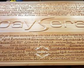 PAYSERA staff board