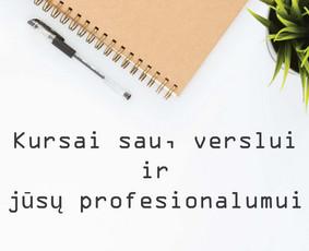 Grafikos dizaino kursai verslui ir sau