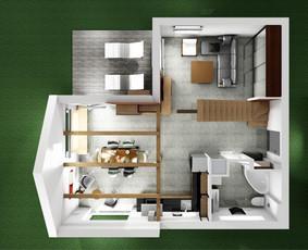 Interjero dizaino paslaugos – nuo konsultacijos iki projekto / Lolita Galdikaitė / Darbų pavyzdys ID 474413