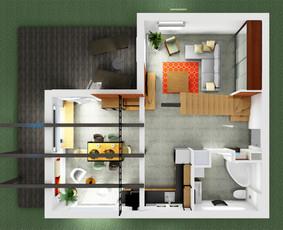 Interjero dizaino paslaugos – nuo konsultacijos iki projekto / Lolita Galdikaitė / Darbų pavyzdys ID 474421