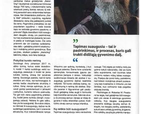 """Žurnalas """"Psichologija TAU""""."""
