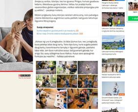 Straipsnių ciklas Letena.lt portale. Klientas: Nestle Purina.