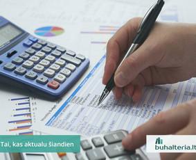 Buhalterinė apskaita, valdymo apskaita, įmonių steigimas