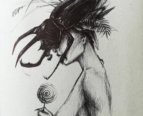 Tapyba, iliustravimas, idėjų išpildymas. / Viktorija Avižienytė / Darbų pavyzdys ID 481247