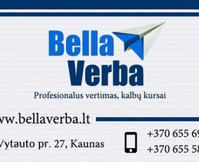 Vertimas iš/į 120 kalbų, individualūs kalbų kursai