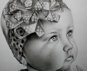 Portretų piešimas, paveikslų tapyba.
