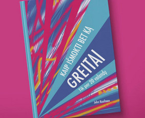 JOHN KAUFMAN | Knygos viršelis / Book cover