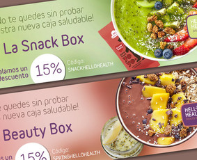 Fit Food | Baneriai / Banners