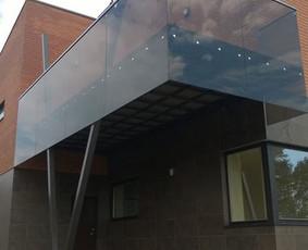 Balkonų Terasų stiklinimas UAB GEICA