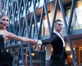 Šokiai, Šokių pamokos, Vestuvinis šokis, Šou, / Show Dance Page / Darbų pavyzdys ID 488859