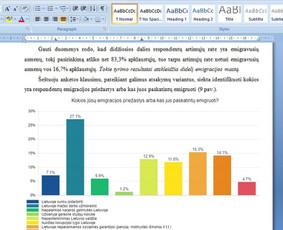 Konsultavimas rengiant rašto darbus / Gerda / Darbų pavyzdys ID 490071