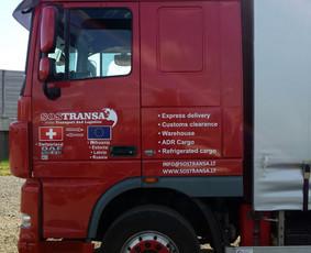 Reklama ant transporto, lipdukų gamyba, lauko/vidaus reklama / Trigalvis.lt / Darbų pavyzdys ID 490377