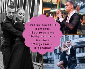 Šokiai, Šokių pamokos, Vestuvinis šokis, Šou, / Show Dance Page / Darbų pavyzdys ID 492611