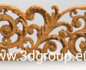 2D, 3D ir 4D frezavimas, 3D skenavimas / 3D Group EU, 3D Wood PRO / Darbų pavyzdys ID 496087