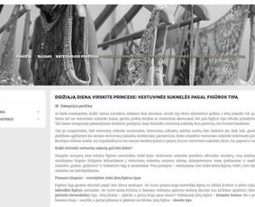 Straipsnis tinklaraščiui: http://www.unicumboutique.com/blogas/didžiąją-dieną-virskite-princese-vestuvinės-suknelės-pagal-figūros-tipą-b38.html