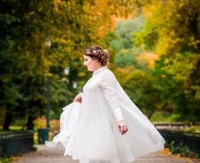 Individualiai kurta nuotakos suknelė