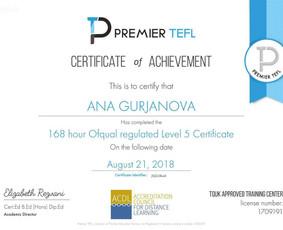 Anglų f-jos bakalaurė, magistrė, OFQUAL TEFL diplomuota
