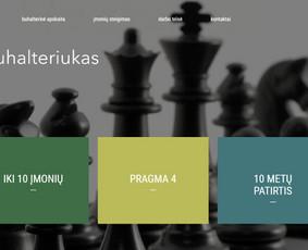 Interneto svetainių kūrimas Kaune