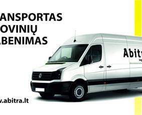 Krovinių gabenimas perkraustymas Vilniuje, visoje Lietuvoje