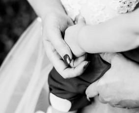 Vestuvių krikštynų asmeninė poros šeimos fotosesija
