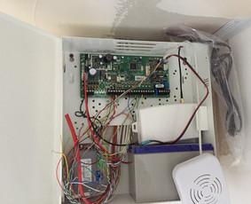 elektros instaliacija - apsaugos sistemos montavimas
