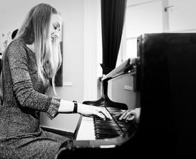 Pianistė Justė Kazakevičiūtė