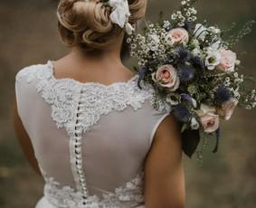 Išsvajotos vestuvinės suknelės kūrimas ir siuvimas / ReCut / Darbų pavyzdys ID 516291