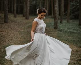 Išsvajotos vestuvinės suknelės kūrimas ir siuvimas / ReCut / Darbų pavyzdys ID 516293