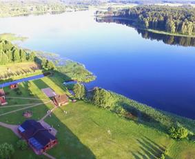 PAS ŠEŠTOKĄ vila sodyba Molėtų rajone prie ežero
