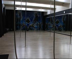 Čia galite vesti savo užsiėmimus. Studija turi 200 m2 ploto. Taip pat mes galime padėti su reklama.
