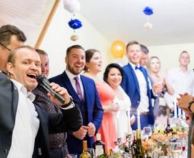 Renginių vedėjas Aurimas Kamarauskas