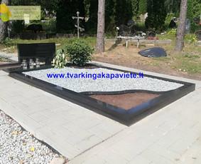Kapo dengimas plokšte, paminklai kapams, kapų tvarkymas / TVARKINGA KAPAVIETĖ / Darbų pavyzdys ID 524727