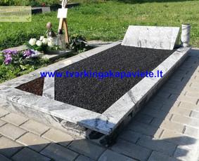 Kapo dengimas plokšte, paminklai kapams, kapų tvarkymas / TVARKINGA KAPAVIETĖ / Darbų pavyzdys ID 524735